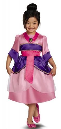 Карнавальный костюм детский мулан для девочки