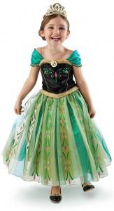 Карнавальный костюм детский для девочки Анна принцесса