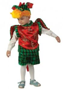 Карнавальный костюм детский дракоша