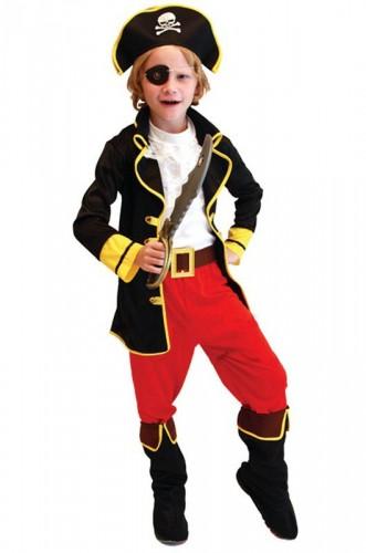 Карнавальный костюм детский на мальчика Джек Воробей