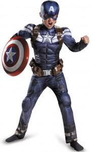 Карнавальный костюм детский на мальчика капитан америка