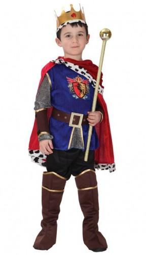 Карнавальный костюм детский на малчьика Король Артур