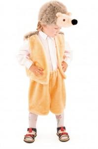 Карнавальный костюм детский ежик