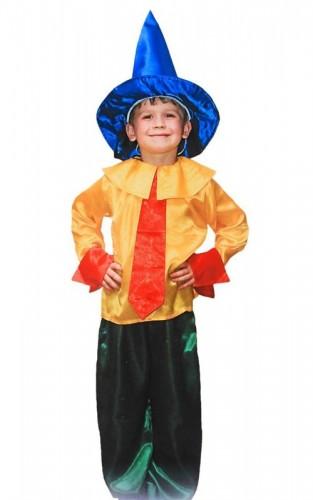 Карнавальный костюм детский на мальчика незнайка