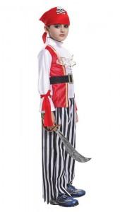Карнавальный костюм детский на мальчика пират