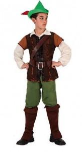 Карнавальный костюм детский на мальчика робин гуд