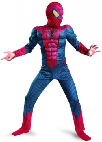 Карнавальный костюм детский на мальчика спайдермен