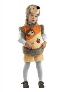 Карнавальный костюм детский на мальчика ежик