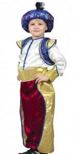 Карнавальный костюм детский на мальчика восточный принц