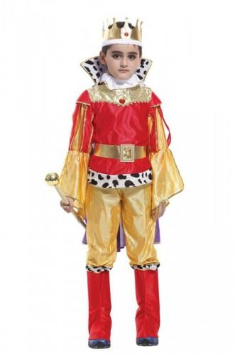 Карнавальный костюм детский на мальчика король