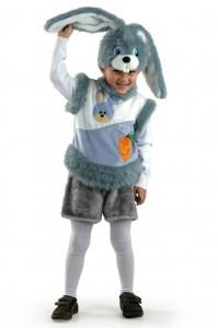 Карнавальный костюм детский зайчик на мальчика