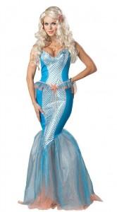 Карнавальный костюм женский русалка Ариэль