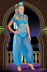 Карнавальный костюм женский джинни