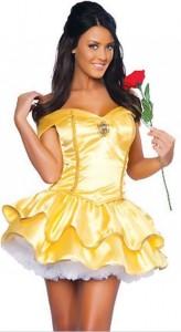 Карнавальный костюм женский красавица Бель
