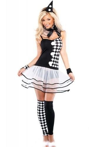 Карнавальный костюм женский клоун