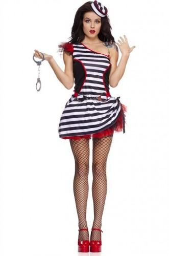 Карнавальный костюм женский опасная рецидивистка