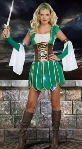 Карнавальный костюм женский эльфийка