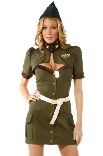 Карнавальный костюм женский Солдат Джейн