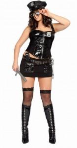 Карнавальный костюм девушки полицейского