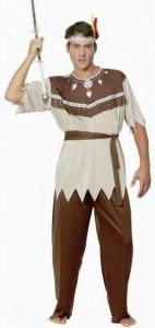 Карнавальный костюм мужской индеец
