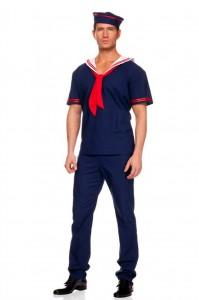 Карнавальный костюм мужской моряк