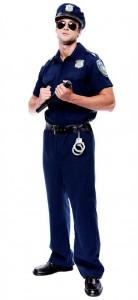 Карнавальный костюм мужской полицейский