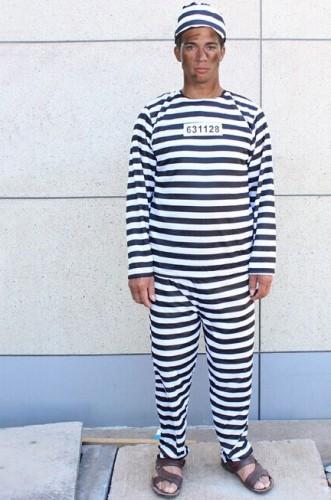 Карнавальный костюм мужской заключенный рецидивист