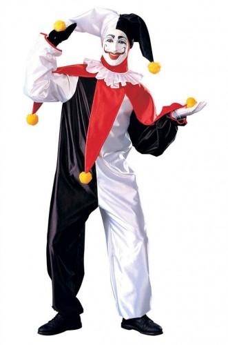 Карнавальный костюм шута мужской