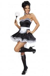 Карнавальный костюм французской горничной