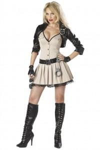 Карнавальный костюм капитана полиции женский