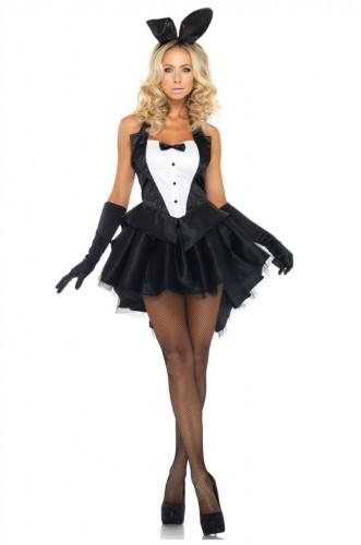Карнавальный костюм женский кролик плейбой