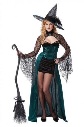 Карнавальный костюм чародейка женский