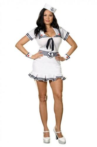 Карнавальный костюм женский капитан