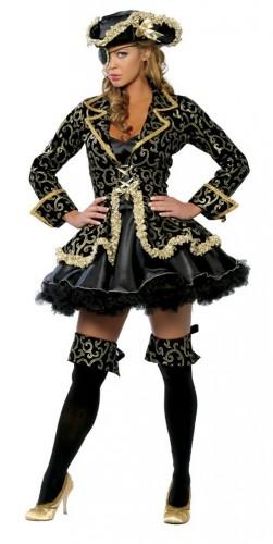 карнавальный костюм пиратки женский