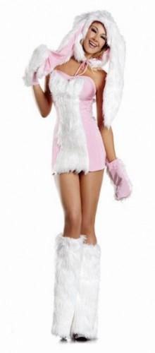Карнавальный костюм женский зайчонок