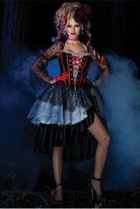Карнавальный костюм ведьмы Скарлетт женский